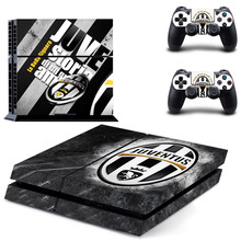 Buy Juventus Football Team PS4 Skin Sticker Decal Sony PlayStation 4 Console 2 Controllers PS4 Skin Sticker Vinyl for $7.59 in AliExpress store