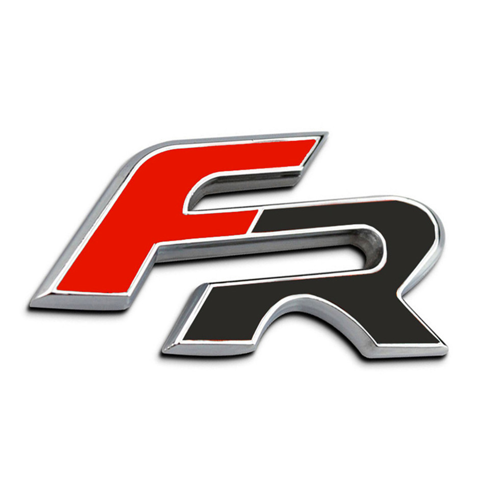 3D Metal Car Stickers For FR Emblem Badge Stickers Car Styling Stickers For Seat leon FR Cupra Ibiza Altea Exeo Formul Stcikers (3)