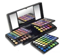 MABCHK New Fashion Professional makeup Eye shadow 180 Colors combination Eyeshadow Palette Cosmetics Set(China)