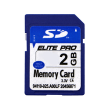 Gift for Boy Crazy Memory Card 2GB Blue SD Card Fashion Design Sdcard For Digital SLR Camera Camcorder DV Free shipping(China)