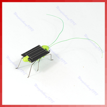 Nice Solar Toys Power Robot Insect Bug Locust Grasshopper Toy Fun