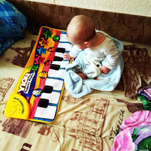 Baby Music Carpet Baby Music Mat Educational Baby Kid Child Piano Music Plat Mat 72*29cm CX872822