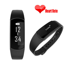 Vibration Alert Band SH09 Bluetooth Wristband Bracelet Pedometer Smart Heart Rate Fitness Tracker Health for DOOGEE Y300 Mobile