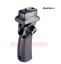 Hot shoe flash socket Handheld flash bracket FLH-G Hot Shoe Flash Mount Holder with PC SYNC for Tripod/Light Stand Adapter