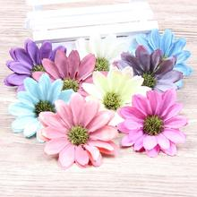 15pcs/Lot Large Silk Sunflower Artificial Flower Head For Wedding Car Decoration DIY Garland Decorative Floristry Fake Flowers