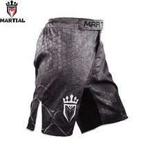 Martial mma shorts men's kick boxing trunks MMA SHORTS fitness gym BJJ shorts mma combat training board short MMa(China)