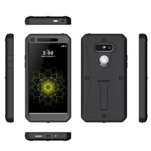RHOADA Heavy Duty New Arrival 360 Degree Case Hard Plastic Cover For Funda LG G5 Shockproof Phone Case + Screen Waterproof Coque(China)