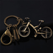 Retro Bronze Bicycle Key Ring Pendant Small Cute Little Deer Key Chain Fashion Hat Key Ring Personal Car Keychain Couple Gift(China)