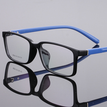 The New TR90 women Glasses frame retro optical clear Full box Eyeglasses frame Men prescription glasses frames 8029(China)