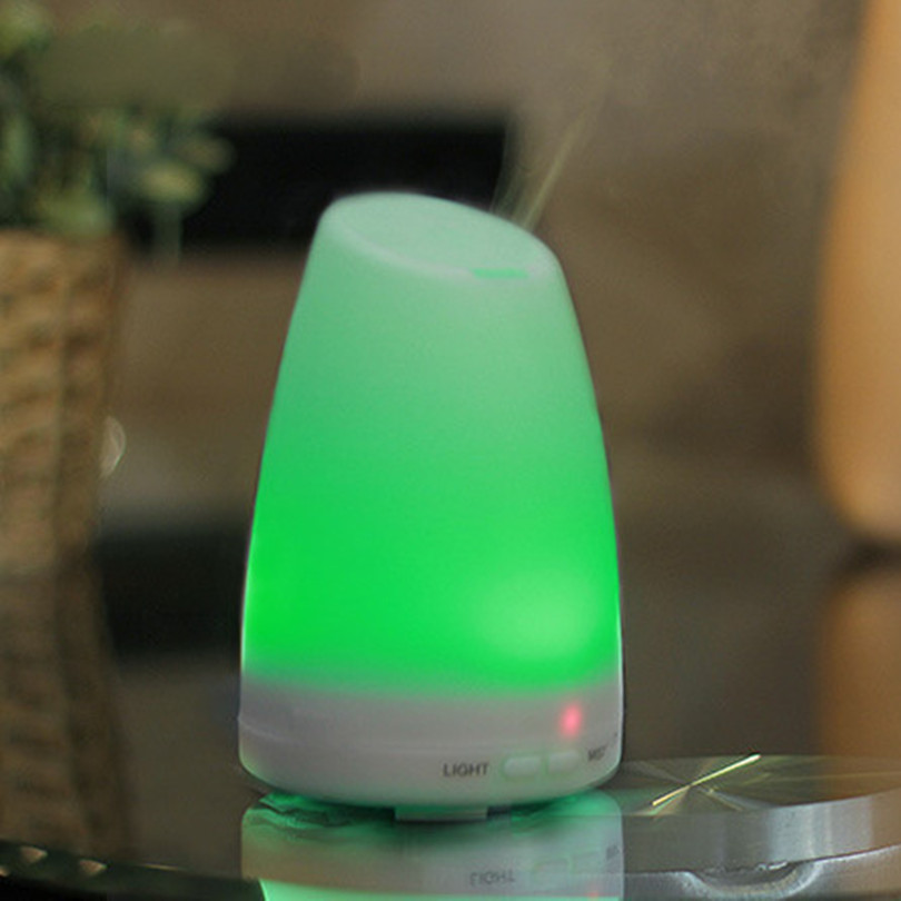 Essential Oil Ultrasonic Humidifier Aroma Diffuser 7 Color LED Lights Electric Aromatherapy Essential Maker Mist Special counter<br><br>Aliexpress