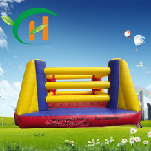 Boxing Ring Nylon 0.55mm anime cartoon inflatable castle jump bed trampoline kids Indoor and outdoor toy