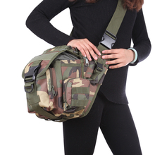 Outdoor Sports Camping Hiking Tactical Messenger Bag Camera Bag Cycling Camping Travel Pouch Molle Chest Sling Pack Shoulder Bag