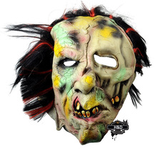 Latex Devils Buck Teeth Terror Halloween Mask Horror Scary Ghost Full Mask Mascara Cosplay Carnival Party Props Fancy Costume(China)