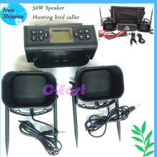 2 x 50W speaker hunting caller bird caller duck caller 50W 200 sounds MP3 BIRD CALLER WILD Animal decoy