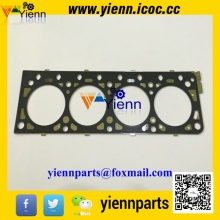 Nisan K15 K21 K25 Head gasket N-11044-FU400 steel made For Komatsu Forklifts K15 K21 K25 Gasoline engine spare parts