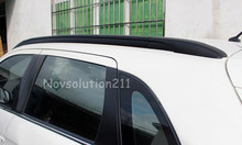 Black Color Luggage Roof  Rack Rails For Mitsubishi ASX 2013 2014 2015 2016