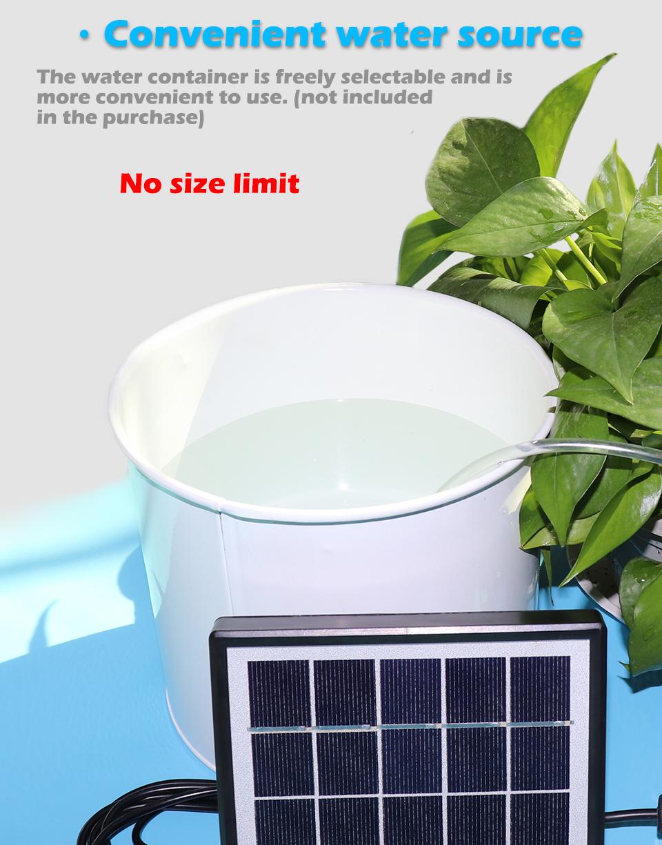 2 Pump Solar//USB Intelligentes automatisches Gartenbew/ässerungsger/ät Cricia Solar Irrigation Kit Timer-Tool f/ür Pflanzenwasserpumpen pr/äzise Bew/ässerung f/ür den Gartenterrasse