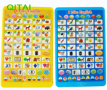 QITAI Children Tablet Toys Pad English Learning Machine Kids Laptop Learning Education Toy For Baby Gift For Child Toddler