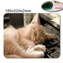 Computer Games Table Mat Super Lovly Cat  Animal Good Series Photo Printing Rubber Rectangle Mouse Pad PC Computer Rubber Pad