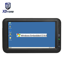 Industrial Tablet Embedded PC 7 Inch Ethernet Lan Port RJ45 RS232 Windows CE 6.0 Linux  All In One Computer GPS USB Bluetooth