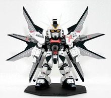 SD Gundam ZGMF-X20A Attack Free Black Edition 3D Paper Model DIY Handmade Toy