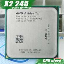 AMD Athlon II X2 245 CPU Processor (2.9Ghz/ 2M /2000GHz) Socket am3 am2+ free shipping 938 pin, there are, sell X2 240 CPU(China)