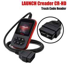 DHL Free Original LAUNCH Creader CR-HD Truck Code Reader CR HD J1939/J1708 Protocols Update Online CRHD Heavy Duty Code Scanner