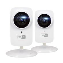 2pcs HD Mini Cube IP Camera WIFI 720P Wireless Webcam CCTV Security Camera MicroSD P2P Onvif Smart Camera IP WIFI IPCam