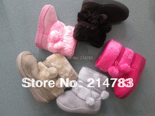 Free shipping,baby snow boots Child Snow boots children Antislip child warm shoes kids booties