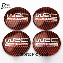 56.5mm Arc Surface Sticker Emblem Wheel Center Badge Hub Caps For Red Grid WRC Logo For Mitsubishi Nissan Suzuki Toyota Porsche