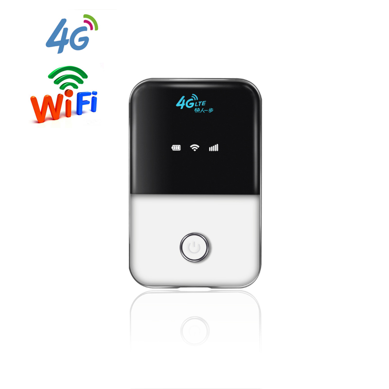 Support B1 B3 B5 2100Mhz 1800Mhz 850Mhz Wireless Car lTE WIFI Router Portable 4G MIFI with sim card slot<br>