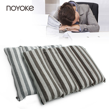 NOYOKE 47*30 cm Multifunctional PE Hose Filling Sleeping Pillow Chair Pad Cushion Office Nap Pillow(China)