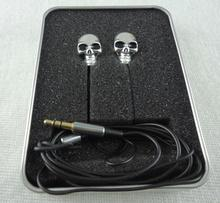 Exyuan Unique Design Metal skull 3.5mm In-ear Earphone High Performance + Retail Box