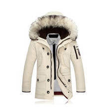 2017 New Winter jacket Men's Jacket And Coats Casual Thick Male Hooded Outerwear Overcoat XXXL(China)