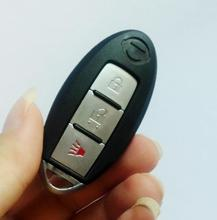 Remote Shell for Nissan Smart 3 Button With Small Insert Key Blade(China)