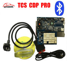 10pcs/lot Latest product with Bluetooth TCS CDP PRO plus 2015 R3 software with Free Activated scanner