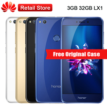 "Global Huawei Honor 8 Lite LX1 Mobile Phone 3GB RAM 32GB ROM 5.2"" Kirin 655 Octa Core 3000mAh 12.0MP Android 7.0 OTG Fingerprint(China)"