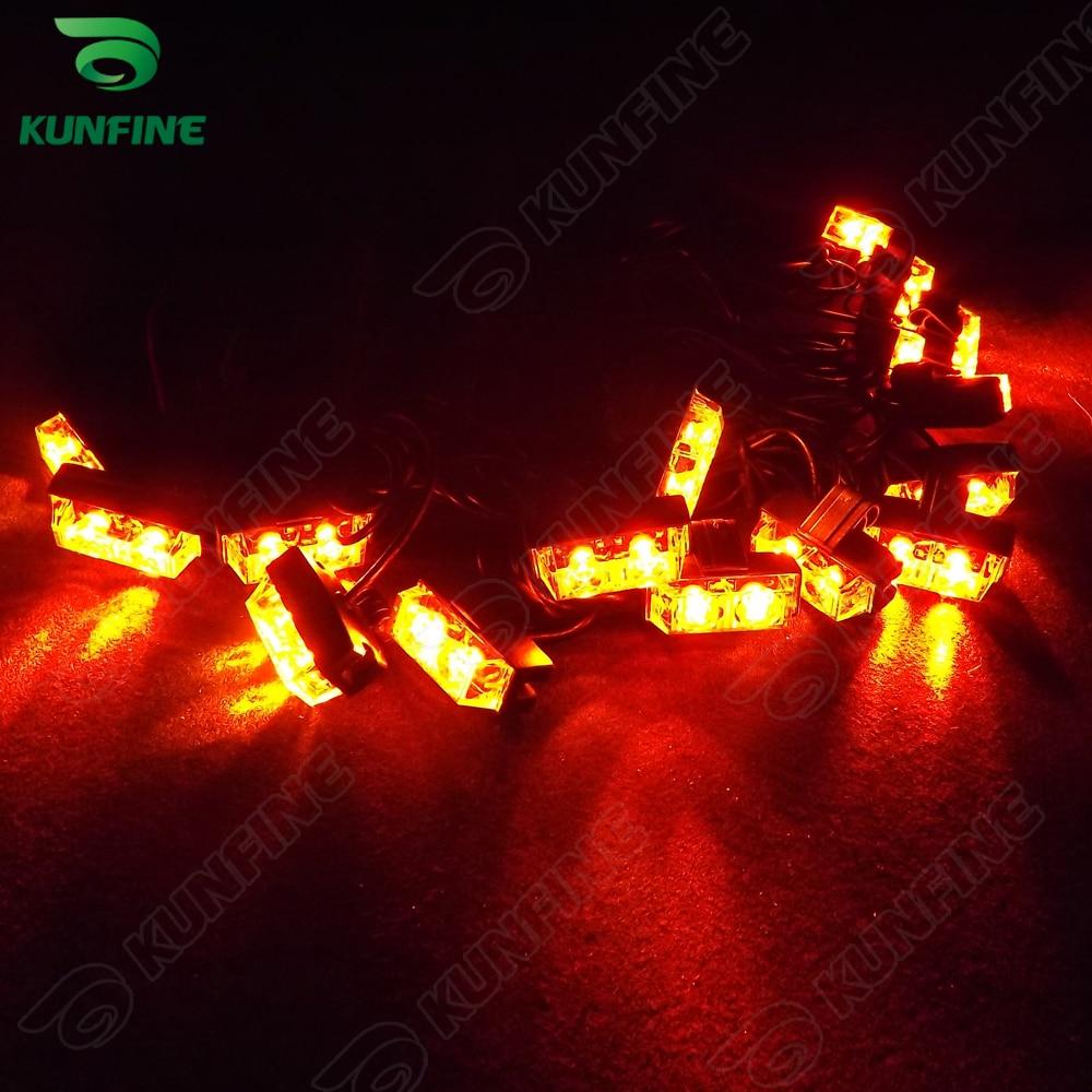 16 in 1 Car LED strobe light bar car warning light car flashlight led light high quality Traffic Advisors light  KF-L3035<br>