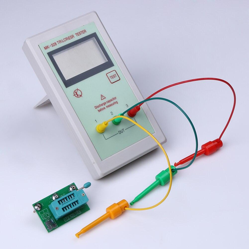 Transistor Tester Portable MK328 128*64 LCD Transistor Tester Diode Inductance Capacitance ESR Meter MOS/PNP/NPN L/C/R Testing<br><br>Aliexpress