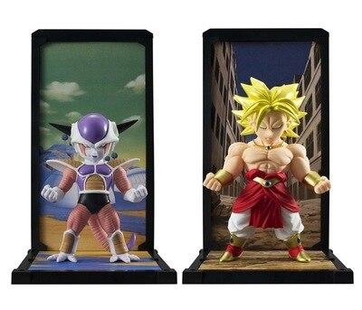 Dragon Ball Z Dragon Ball Z Super Saiyan Broli Broly &amp; Freeza 8cm PVC Action Figure Model Toys Gifts Collection<br><br>Aliexpress