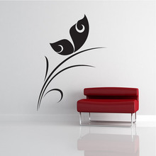 DIY Removable Black Hollow Out Delicate Butterflies Wall Sticker Living Room Art Wall Decor(China)