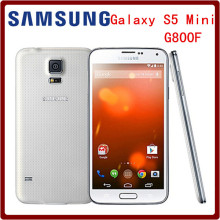 Original Unlocked Samsung Galaxy S5 Mini G800F 4.5 Inch Quad Core 1.5GB RAM 16GB ROM 8MP Camera Refurbished Mobile Phone(China)