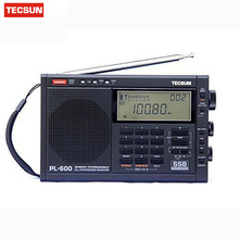 TECSUN PL-600 Full-band Stereo Digital Tuner AM/FM/LW/SW SSB Shortwave Radio Build-in with Clock PL600 Drop shipping Hotsale(China)
