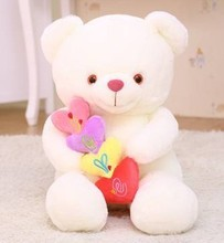 Free shipping 90cm big size love teddy bear plush toy bear plush doll gift for girls wholesale and retails