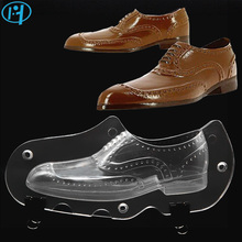 NEW Leather Men Shoe Plastic Chocolate Mold 3D Candy Cake Molds Cake Decorating Tools DIY Home Baking Sugar Craft Accessories