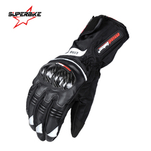 Motorcycle Gloves Men Carbon Fibre Protective Long GP PRO Motocross Motorbike Glove Bike Moto Protect Gear Cycling Racing Sports