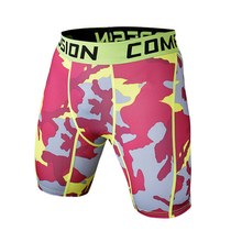 Hot Sale Camouflage Quick Dry Men Tight Skin Compression Shorts New Stylish(China)