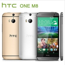Original HTC ONE M8 Quad Core Mobile phone 4G LTE Android 4.4 2GB RAM 16GB/32GB ROM 3 Camera EMS DHL
