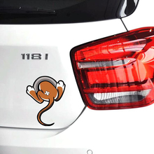 Car-styling Funny 3D Car Sticker Mouse Tail Cartoon Decal VW Golf 4 5 6 7 Polo Ford Focus Kia Honda Fit Renault Peugeot Audi - Emonter Energy Co., Ltd. store
