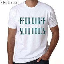yiwuliming 2017 Mens t shirt Unisex Tee send nudes hidden message t shirt short sleeve white t-shirts O-Neck fun shirts(China)